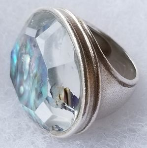 Silpada Sterling Silver Abalone Ring